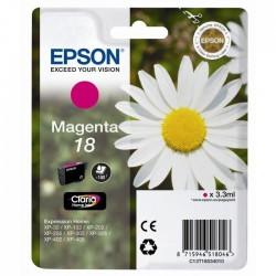 CARTOUCHE JET D'ENCRE ORIGINAL EPSON T1803 MAGENTA 3.3ML