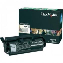 TONER LASER ORIGINAL LEXMARK T650A11E T650/652/654 NOIR 7000 PAGES