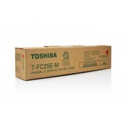 TONER PHOTOCOPIEUR ORIGINAL TOSHIBA FC25E MAGENTA 26800 PAGES
